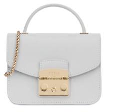 NWT Furla Metropolis Mini Top Handle Bag - Cristallo D 993825