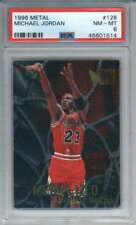 1996-97 Fleer Metal Michael Jordan #128 Chicago Bulls PSA 8 (#1514)