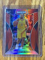 2019-20 Talen Horton-Tucker Panini Draft Picks Prizm Silver Red #47 LAKERS 🔥🔥