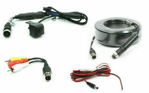 Rostra 250-8199-HD-20M Heavy Duty License Plate Camera & 66' Ext Harness