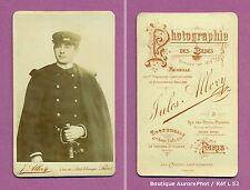 CDV ALLEVY à PARIS : SOLDAT MILITAIRE DE LA MARINE EN POSE VERS 1890 -L52