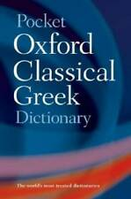 Pocket Oxford Classical Greek Dictionary - Paperback By Morwood, James - GOOD