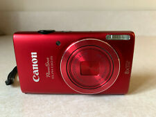 Canon PowerShot ELPH 130 IS / IXUS 140 16.0MP Digital Camera - Red