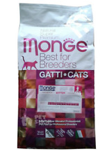 MONGE NATURAL SUPERPREMIUM CAT KITTEN 10 KG. CROCCANTINI PER GATTI