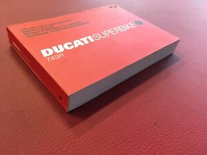 Ducati 749 R  Bedienungsanleitung Beschreibung