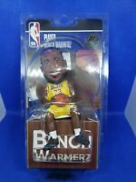 LeBron James Los Angeles Lakers Benchwarmerz Sitting Mini Bobblehead NBA