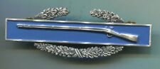 Us Army Vietnam era Cib Combat Infantry badge clutch back Original S-21 Gi