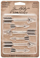 Tim Holtz Idea-ology Adornments Arrows Decorative Ornaments Charms Embellishment