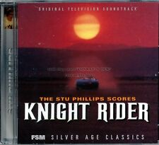 "Stu Phillips ""KNIGHT RIDER"" score FSM 3000 Limited CD sold out SEALED"