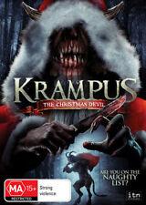 KRAMPUS: The Christmas Devil DVD CHRISTMAS HORROR MOVIE NEW RELEASE BRAND NEW R4