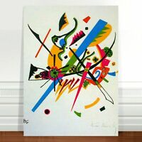 "Wassily Kandinsky Small Worlds ~ FINE ART CANVAS PRINT 8x10"""