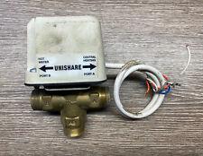 SUNVIC SDM 1901 22mm 4 Wire 3 Port MID Position Valve