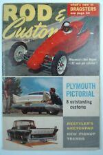 Rod & Custom Feb 1958 Vintage Hot Classic Car Magazine Racing Dragster Pickup