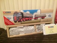 Corgi Modern Truck Classic Atkinson 8 Wheel & Trailer With Load Tennant 97366