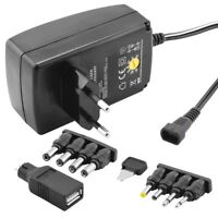Universal Power Supply Charger To 1000mA 230 Volt IN On 3 4,5 5 6 7,5 9 12 V Out
