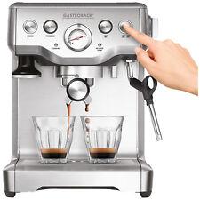 GASTROBACK 42611 Design Espresso Advanced Plus Espressomaschine Silber