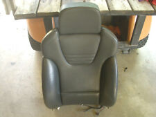 Audi S4 B6 Driver Front Seat Back Only Black Leather Recaro 2004-2005 Nice
