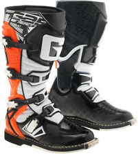 STIVALI MOTO CROSS ENDURO GAERNE G REACT GOODYEAR ARANCIO FLUO ORANGE TG 44
