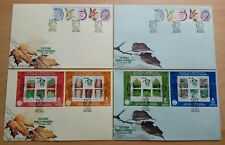 2000 Malaysia XXI IUFRO World Congress Forest Research, Stamps & MS on 4 FDC (B)