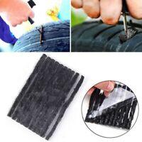 50 X Car Bike Tyre Tubeless Seal Strip Plug Tire Puncture Repair Recovery Kits ~