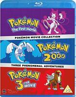 Pokemon Movie 1-3 Collection [Blu-ray] [DVD][Region 2]
