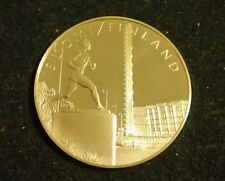 UNITED NATIONS FINLAND STERLING SILVER MEDAL NATIONS UNIES NACIONES UNIDAS