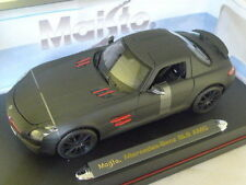 1:18 Maisto Mercedes SLS AMG GULLWING NERO OPACO