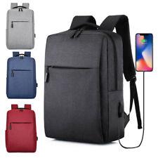 15.6 Inch Laptop USB Backpack School Bag Rucksack Men Travel Business Daypacks