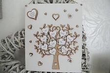 Personalised handmade Family tree wall plaque gift keepsake Wall Sign P56