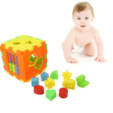 New Educational Shape Alphabet Blocks Cube Toddler Child Baby Playing Toys Gifts