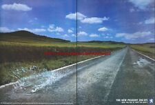 "Peugeot 206 Gti ""Now You See It Now You Dont"" 1999 Magazine 2 Page Advert #4011"