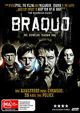 Braquo Season 1 (2 Disc) New/Sealed