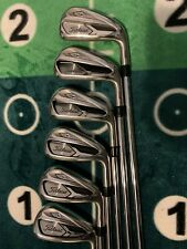 New listing Titleist 718 AP1 5-PW Right Handed AMT Red R-300 Iron Set.