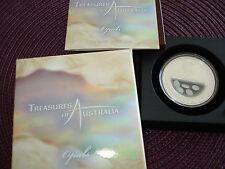 2008 Australia 1$ Treasures of Australia - Opals 1oz Silver Coin Proof