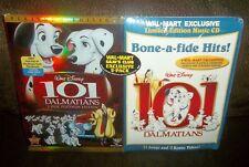 Walt Disney 101 DALMATIANS 2 Disc PLATINUM Limited Edition DVD + Bonus Music CD