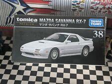 TOMICA PREMIUM #38 MAZDA SAVANNA RX-7 1/61 SCALE NEW IN BOX