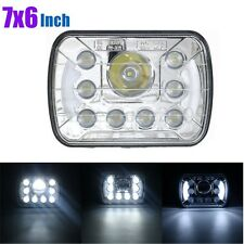 "7""x6"" inch DRL H6054 6014 LED Headlights Headlamp High/Low Beam 55W Replace NEW"