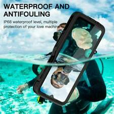 Rugged Silicone Case w Screen Cover IP68 Waterproof For Samsung Galaxy A12 Phone