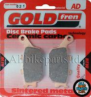 SINTERED REAR BRAKE PADS For: HONDA NX 500 DOMINATOR (1988 to 1996) NX500
