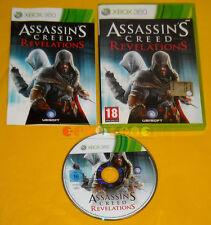 ASSASSIN'S CREED REVELATIONS Xbox 360 Versione Ufficiale Italiana »»»»» COMPLETO
