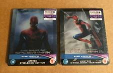 THE AMAZING SPIDER-MAN - UK LENTICULAR  BLU RAY STEELBOOK COLLECTION - NEW