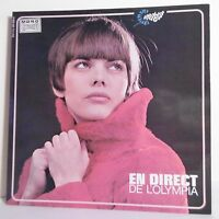 """33T Mireille MATHIEU Disque LP 12"""" DIRECT L'OLYMPIA 1966 + Poster BARCLAY 80330"""