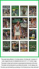 Boston Celtics Sports Illustrated Cover Collection Poster