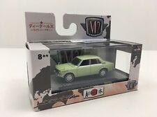 M2 Machines 1969 Nissan Bluebird 1600 Sss Green Auto-Japan Diecast 1:64 Scale