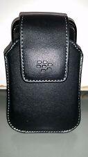OEM Blackberry Leather Case Swivel Clip Belt Holster
