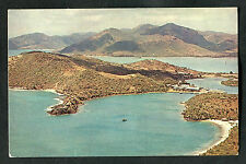 C1970s Aerial View: English Harbour: Published by Pan Am Airlines