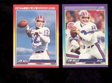 "1990 Score JIM KELLY Buffalo Bills Lot ""HOT GUN"""