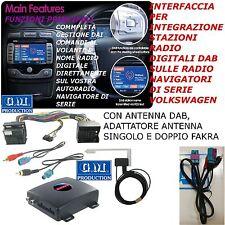 INTERFAZ DIGITAL DAB RCD 300 310 500 510 VW MUTILVAN TOURAN EOS SHARAN JETTA