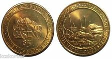 Casino Token Brass Wildlife Series Ducks 1994 Grand Gaming Token