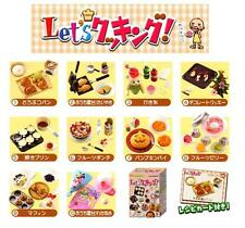 Re-ment Lets Cooking Complete Set 10 New Box Play Food Miniature Lot Halloween